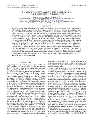 Full text PDF (7.16 MB) - IOPscience