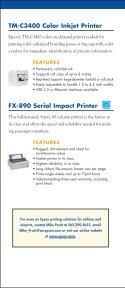 Printing - Epson POS Printers - Page 6
