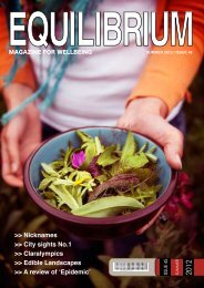 Equilibrium Magazine Issue 45 - Summer 2012 - Haringey Council
