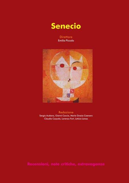 Massimo Rossi: Scientia Litterarum. Storia, autoi, generi - Senecio.it