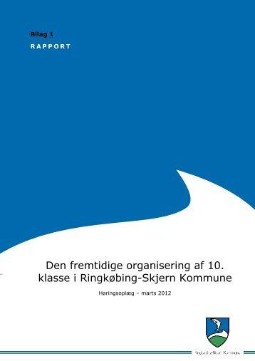 Bilag 1-Høringsmateriale.pdf - Ringkøbing-Skjern Kommune