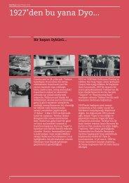 Dyo Boya'nın 86 Yıllık Tarihinden Satırbaşları