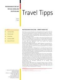 Travel Tipps 06 - Deutschland