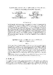 Approximative analytische Leistungsbewertung am Beispiel ... - CS 4