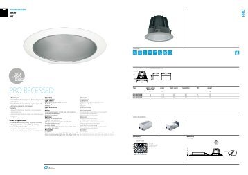 DOWNLIGHT pRO HID - OMS Product Database
