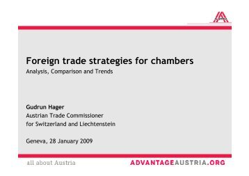 O.2 Foreign Trade Strategies for Chambers - Eurochambres Academy