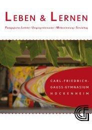 Leben & Lernen - Carl-Friedrich-Gauß-Gymnasium