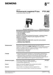Rozszerzenie magistrali P-bus PTX1.082 - ALPAT