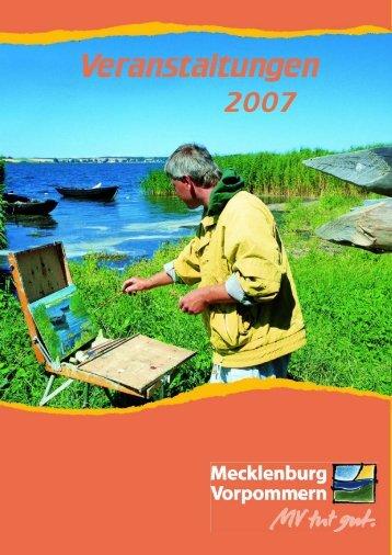 Also: Feiern Sie mit! - Tourismusverband Mecklenburg - Vorpommern