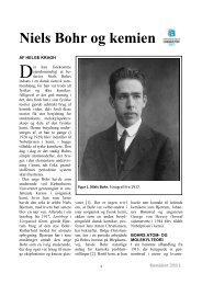 Niels Bohr og kemien