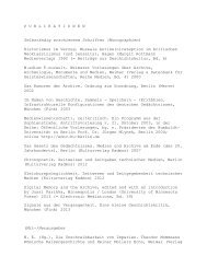 MEDIENWISSENSCHAFTLICHE PUBLIKATIONEN WOLFGANG ...