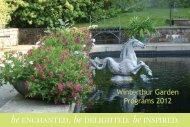 Winterthur Garden Programs 2012