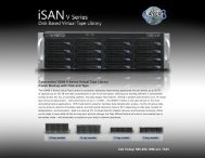 Download iSAN® V Series Specifications - Layer 3 Technologies
