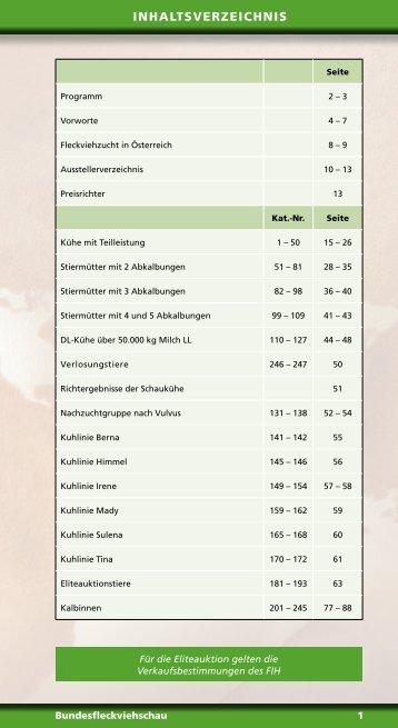 Schaukatalog gesamt - Arbeitsgemeinschaft österreichischer ...