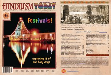 Hinduism Today, April/May/June, 2010 - Hinduism Today Magazine