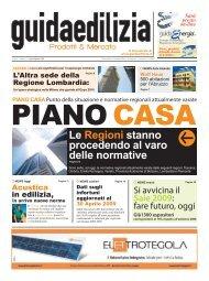 Edizione Luglio/Agosto 2009 - Guida Edilizia
