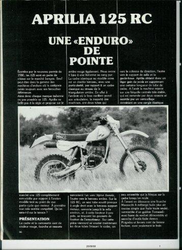 125 RC 1981 - Vintage Aprilia