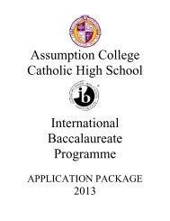 IB Application Pkg 2013.pdf - Windsor-Essex Catholic District School ...