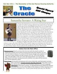 SMHA Oracle - Oct-Nov 2011.pdf - San Marcos Housing Authority