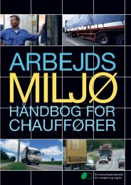 Arbejdsmiljøhåndbogen for chauffører - BAR transport og engros
