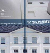 TAG DER ARCHITEKTUR Besser wohnen mit Architekten 25.+ ...