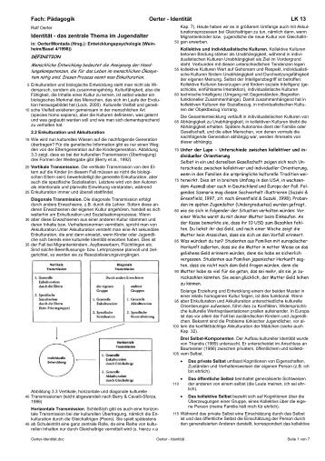 Identität-Text - Ploecher.de