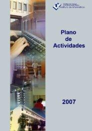 Plano de Actividades de 2007 - Instituto de Informática