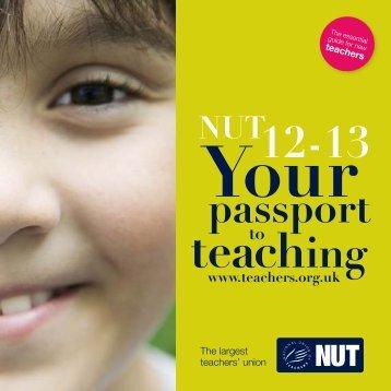 passport - National Union of Teachers
