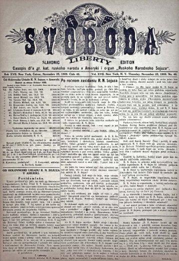 Svoboda slavonic edition 1909, No.46