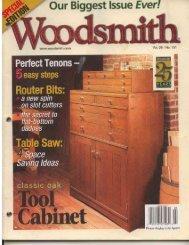Woodsmith Magazine Pdf