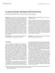 La capsula endoscopica nella diagnosi delle lesioni del colon Attualità