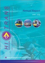 Annual Report 2008 09 - Hitrans