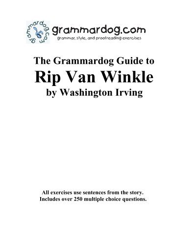 Rip van winkle rip van winkle grammardog altavistaventures Images
