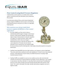 Flow Control using Back Pressure Regulator - ThomasNet