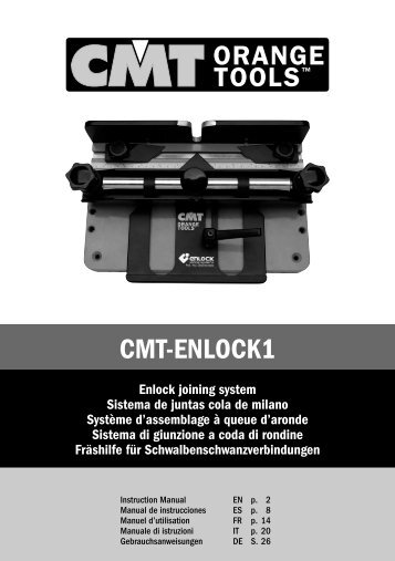 CMT-ENLOCK1 - CMT Woodworking Cutting Tools