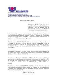 Resultado para Aluno Especial 1º Semestre/2012.pdf - Unioeste