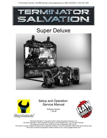 Terminator Salvation - BMI Gaming