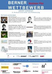 BBPW Award Programm.pdf - IMU - Management - Universität Bern