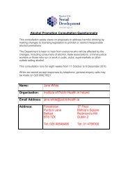 Alcohol Promotion Consultation Questionnaire - Institute of Public ...