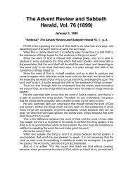 The Advent Review and Sabbath Herald (1899).pdf - Centro de ...