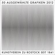 Katalog (PDF) - Kunstverein zu Rostock e.V.
