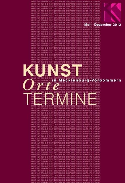 Layout 2012 neu - KUNST in Mecklenburg-Vorpommern