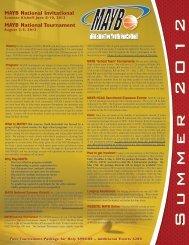Summer Brochure - MAYB