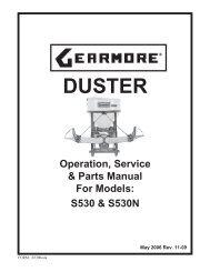 DUSTER - Gearmore, Inc.