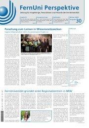FernUni Perspektive - FernUniversität in Hagen