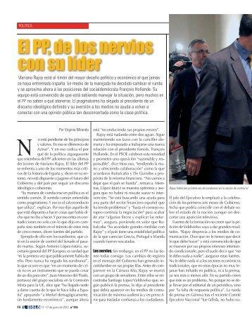 el pp, de los nervios con su líder - El Siglo