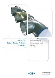 +GF+ Profit PVC - Plastic Systems