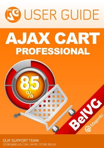 Ajax Cart Pro User Guide - BelVG Magento Extensions Store