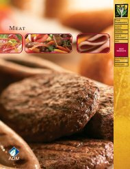 MEAT PRODUCTS - ADM
