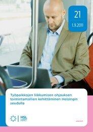 Työpaikkojen liikkumisen ohjauksen toimintamallien ... - HSL